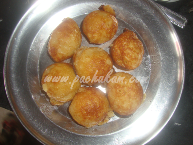 Step 7 Sweet Paniyaram (Step By Step Photos) Recipe