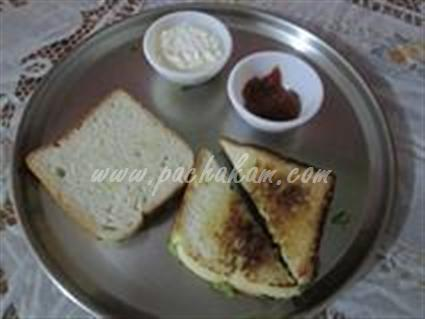 Step 9 Bread Sandwich  Recipe