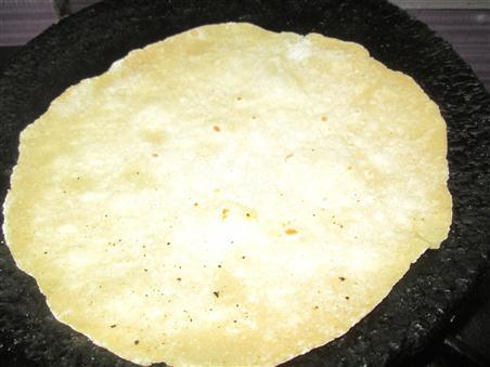 Step 8 Phulka Chappathi Recipe