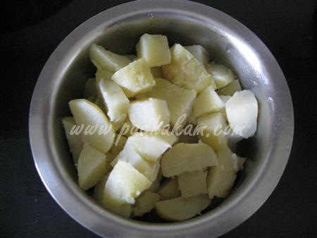 Step 1 Sukha  Aloo Bhaji (Step By Step Photos) Recipe