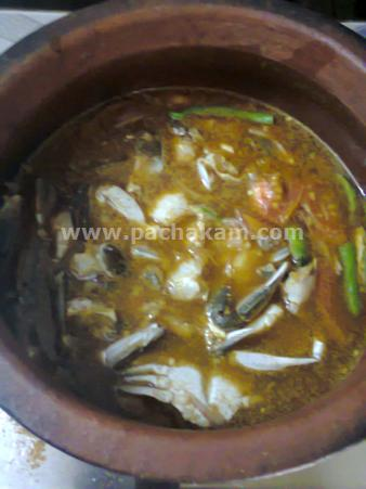 Step 5 Delicious Naadan Crab Curry Recipe