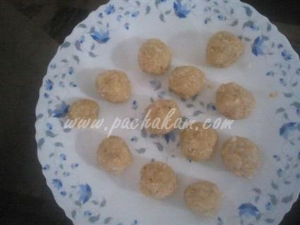 Step 4 Coconut Bread Balls Recipe