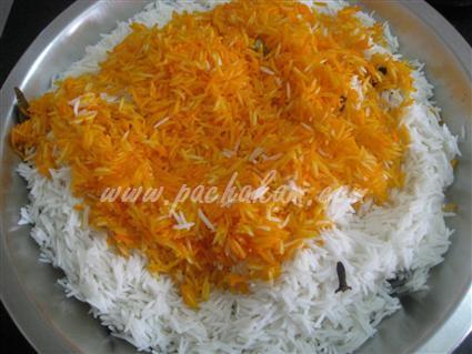 Step 13 Kachha Gosht Biriyani Recipe