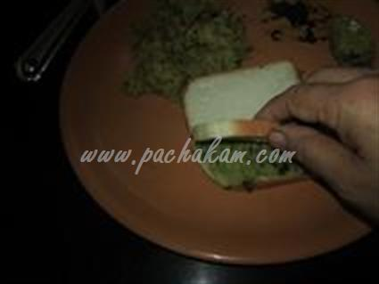 Step 6 Bread Sandwich  Recipe