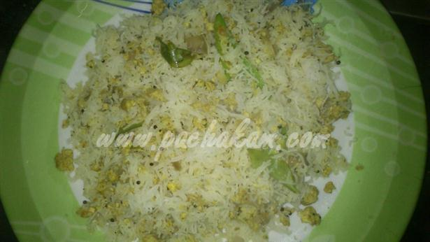 Step 5 Idiyappam Egg Upma (Step By Step Photos) Recipe