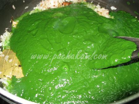 Step 7 Palak Paneer (Spinach-Cottage Cheese) (Step By Step Photos) Recipe