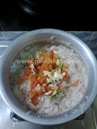 Step 2 Chemmeen Undapputtu Recipe