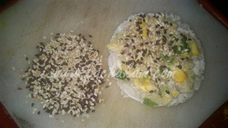 Step 6 Sesame Corn Toast (Step By Step Photos) Recipe
