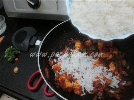 Step 9 Tomato Pulao - Mumbai Special Recipe