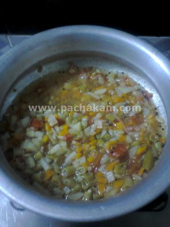 Step 7 Easy Veg Kuruma Recipe