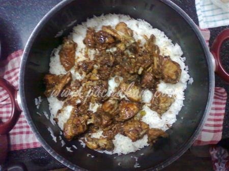 Step 5 Afghani Chicken Pulau  (Step By Step Photos) Recipe