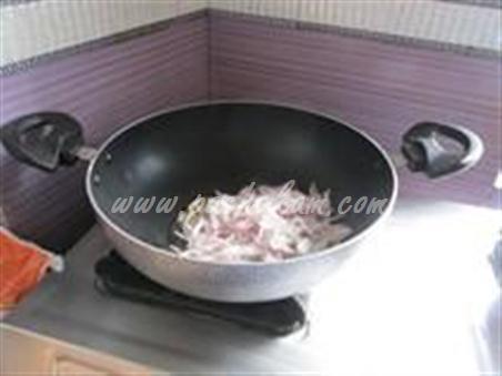 Step 4 Capsicum Masala Curry  Recipe