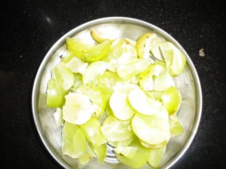 Step 1 Gooseberry(Nellikka) Squash Recipe
