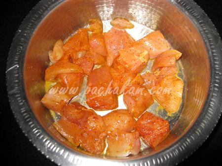 Step 1 Spicy Chicken Curry (Step By Step Photos) Recipe