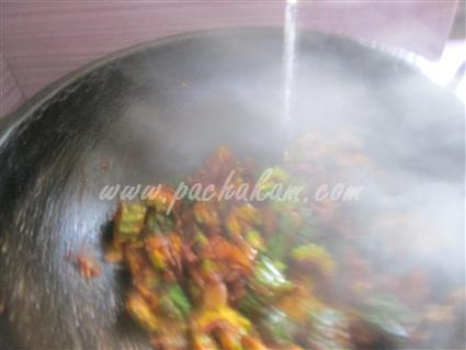 Step 6 Kerala Pavakka Curry  Recipe