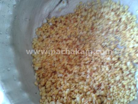 Step 3 Cherupayar Payasam Recipe