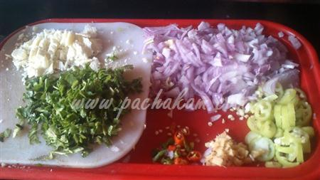 Step 1 Cheese Egg Masala Sandwich (Step By Step Photos) Recipe