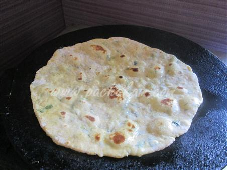 Step 4 Methi Paratha Recipe