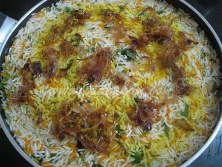 Step 18 Kachha Gosht Biryani (Step By Step Photos) Recipe