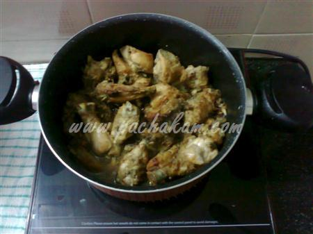 Step 3 Afghani Chicken Pulau  (Step By Step Photos) Recipe