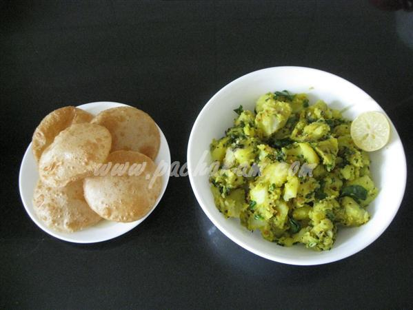 Step 6 Sukha  Aloo Bhaji (Step By Step Photos) Recipe
