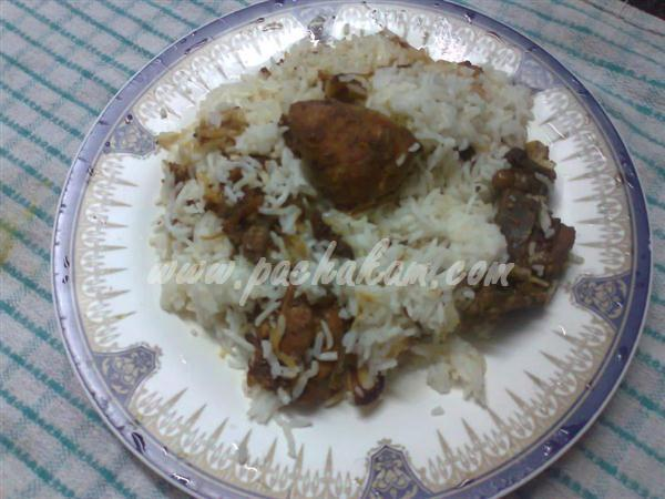 Step 7 Afghani Chicken Pulau  (Step By Step Photos) Recipe