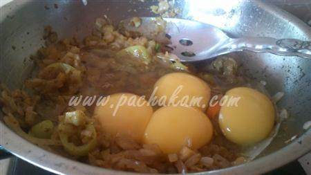 Step 4 Cheese Egg Masala Sandwich (Step By Step Photos) Recipe