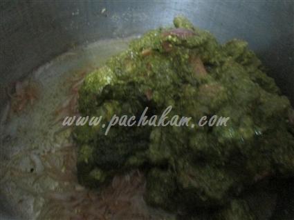 Step 6 Green Masala Chicken Biriyani(Kozhi Biryani) Recipe