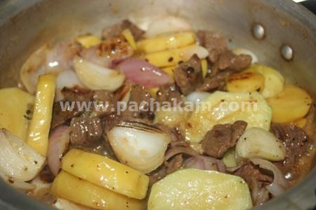 Step 5 Irish Stew In Indian Style Recipe