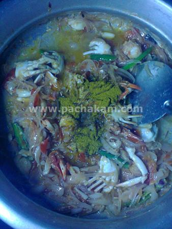 Step 4 Crab Biryani With Cucumber Salad Recipe