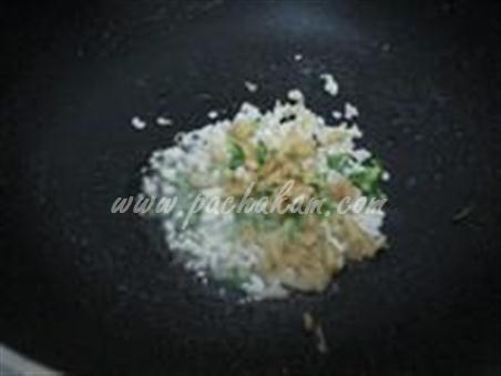Step 3 Chinese Mushroom-Capsicum Pulao Recipe