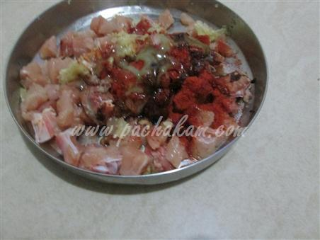 Step 1 Chicken Chilli Fry  Recipe