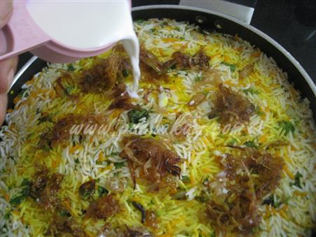 Step 20 Kachha Gosht Biryani (Step By Step Photos) Recipe