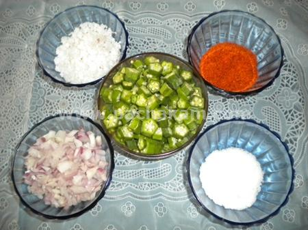 Step 1 Vendakka(Ladies Finger) Thoran Recipe