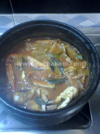 Step 6 Njendu (Crab) Mulakittath (Step By Step Photos) Recipe
