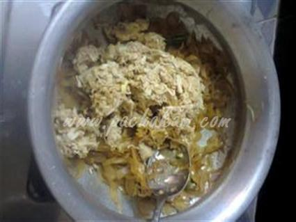 Step 7 Bread Nirachu Porichathu Recipe