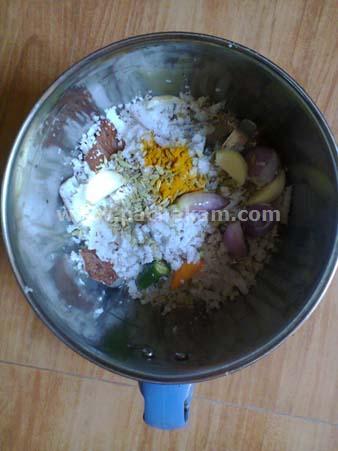 Step 2 Naadan Kappa (Tapioca) Mathi (Sardines) Puzhukku ( Recipe