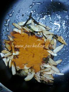 Step 5 Chakka Kuru (Jackfruit Seeds) Achar Recipe