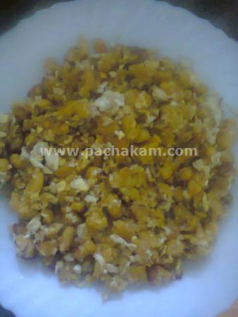 Step 6 Banana-Egg Snack Recipe