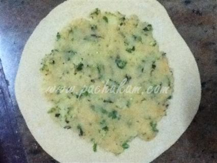 Step 7 Aloo Paratha Recipe