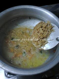 Step 4 Semiya Noodles Recipe