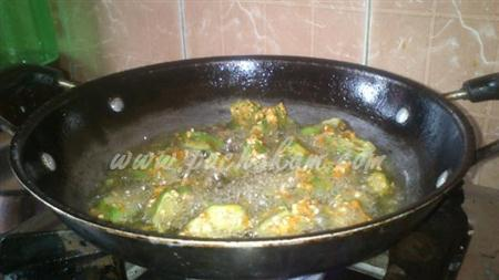 Step 3 Bindi (Ladies Finger) Fry (Step By Step Photos) Recipe