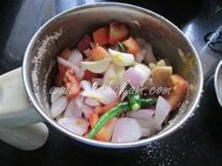Step 4 Capsicum Nuts Masala  Recipe