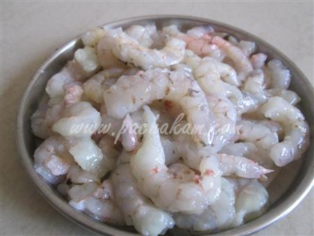 Step 2 Fresh Prawns Fry Recipe