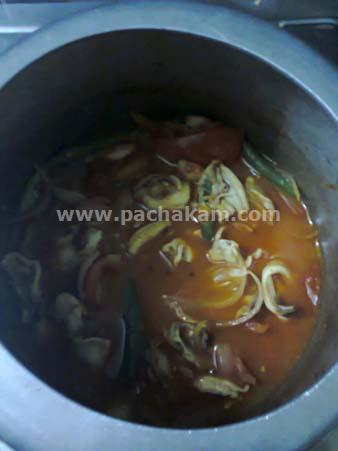 Step 1 Naadan Kadukka (Mussels) Curry (Step By Step Photo Recipe