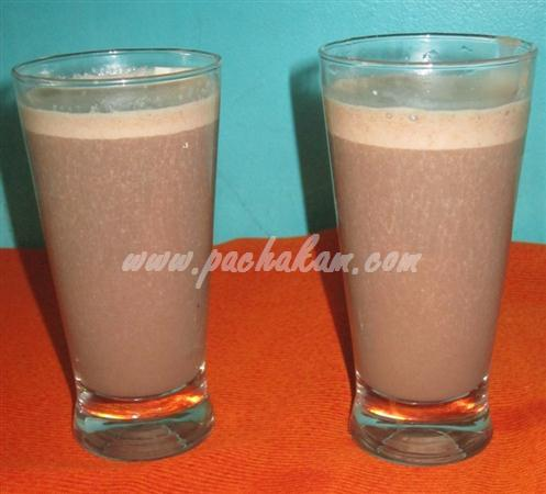 Step 3 Banana Choco Drink (Step By Step Photos) Recipe