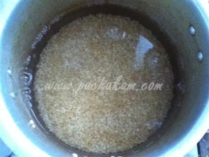 Step 1 Chakkara Gothambu Recipe