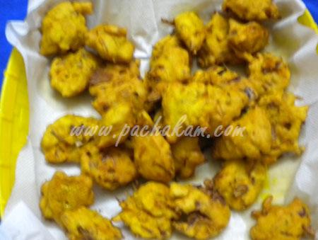 Step 5 Pakoda Curry Recipe