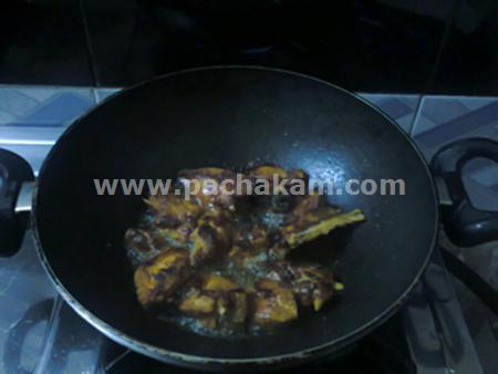 Step 5 Chappathi Roll Recipe