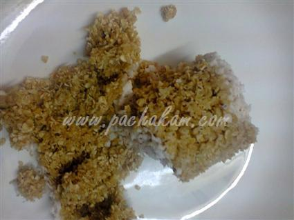 Step 3 Oats Puttu Recipe